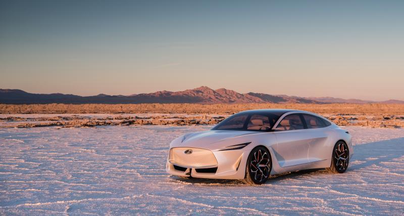 Salon de Détroit 2019 : toutes les photos du SUV Infiniti QX Inspiration Concept