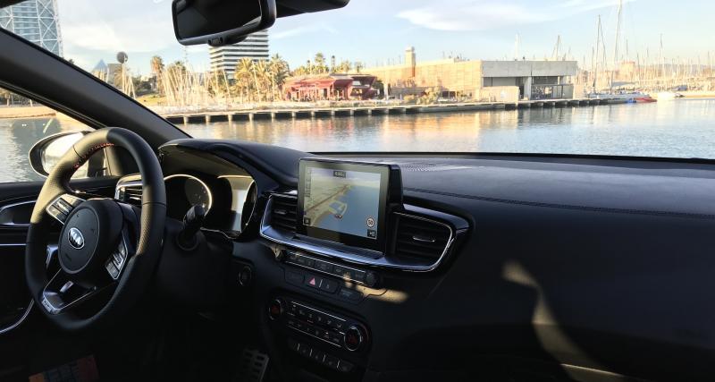 Au volant : bien meilleure qu'un SUV