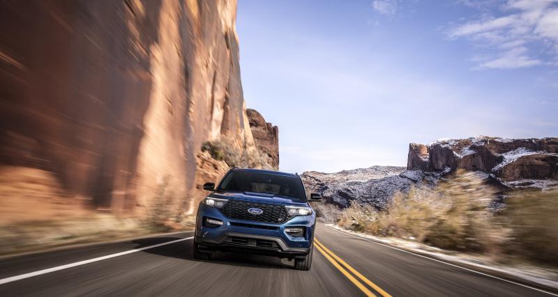 Salon de Détroit : toutes les photos du Ford Explorer ST 2020