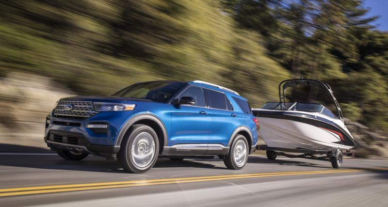 Salon de Détroit : toutes les photos du Ford Explorer Hybride 2020