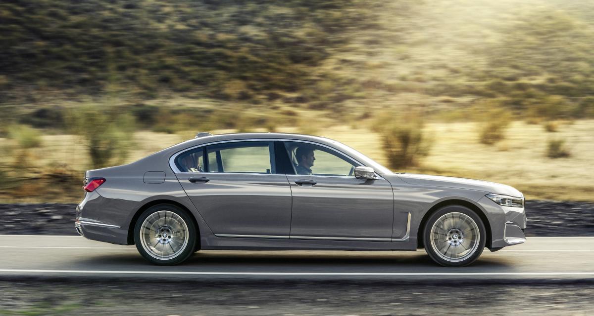 BMW Série 7 restylée : toutes les photos de la berline de luxe allemande