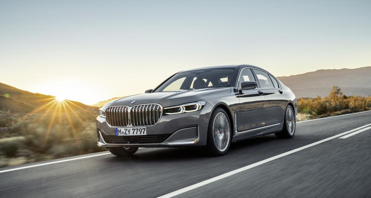 BMW Série 7 restylée: mise en conformité