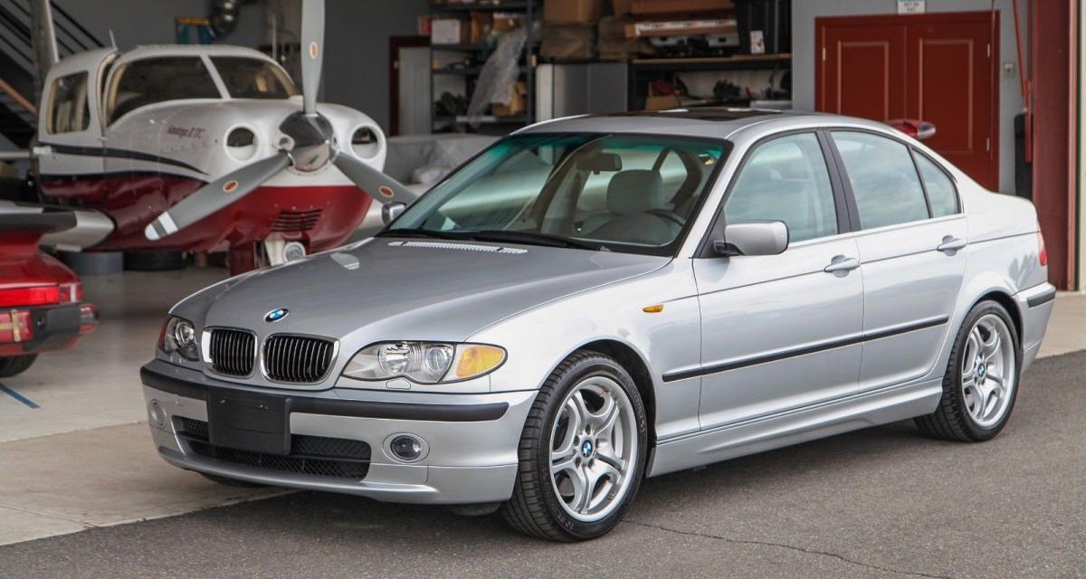 Avis aux amateurs : une BMW Série 3 E46 de 2002… quasi neuve sur eBay !