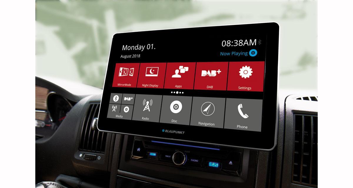 Autoradio Android avec écran 10 pouces à prix canon chez Blaupunkt