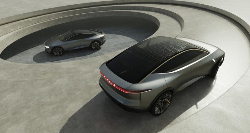 Nissan IMs : toutes les photos du concept de berline électrique et autonome