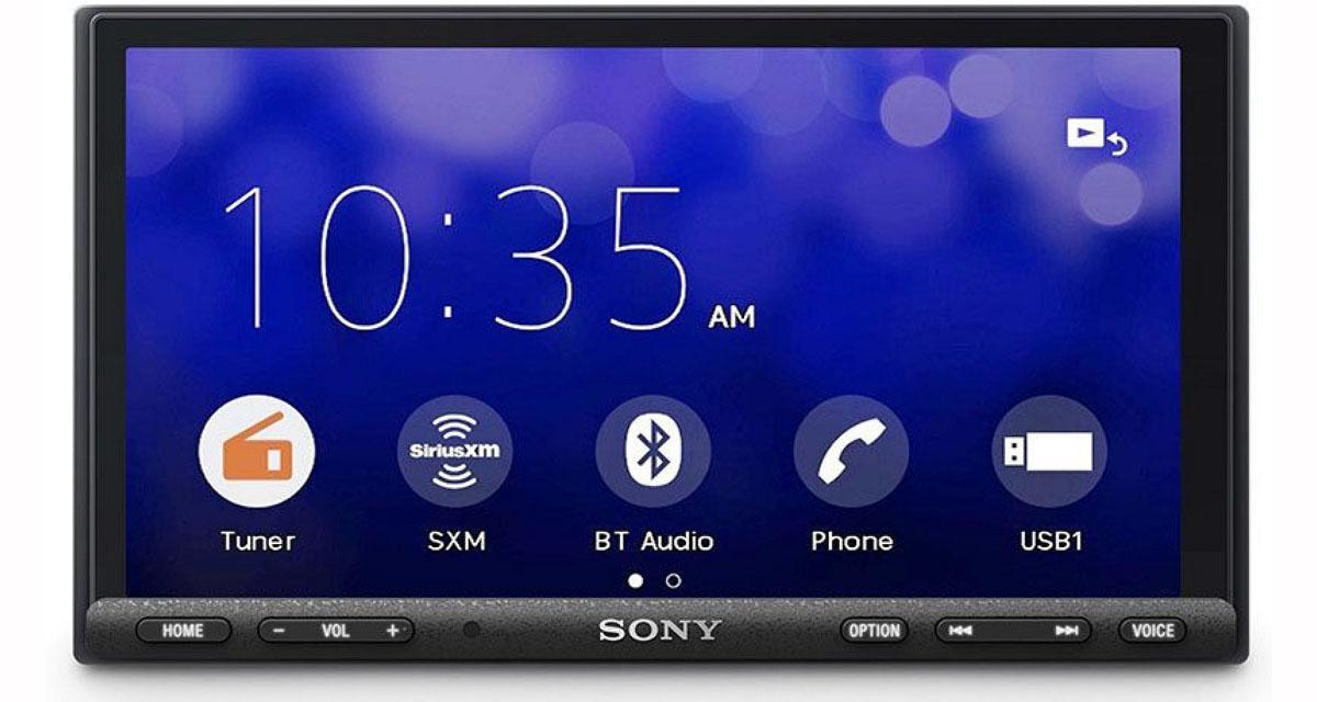 Au CES 2019, Sony présentait un nouvel autoradio CarPlay doté d'une amplification puissante