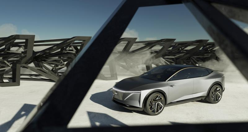 Salon de Détroit : avec l'IMs, Nissan dévoile son 1er véhicule autonome électrique