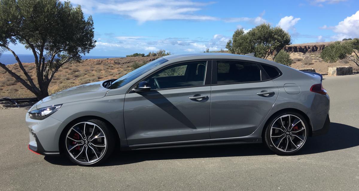 Hyundai i30 Fastback N : nos photos de l'essai depuis les Canaries