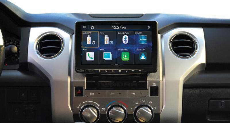 CES 2019 : nouvel autoradio 9 pouces pour smartphones chez Alpine Electronics