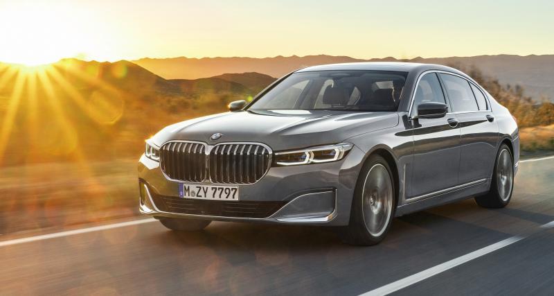 BMW Série 7 restylée : les quatre points à retenir