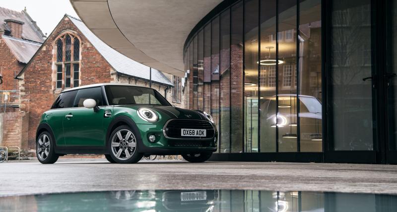 La Mini Cooper 60ème anniversaire en 4 points