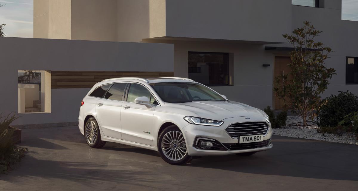 Ford décline sa Mondeo break dans une version hybride
