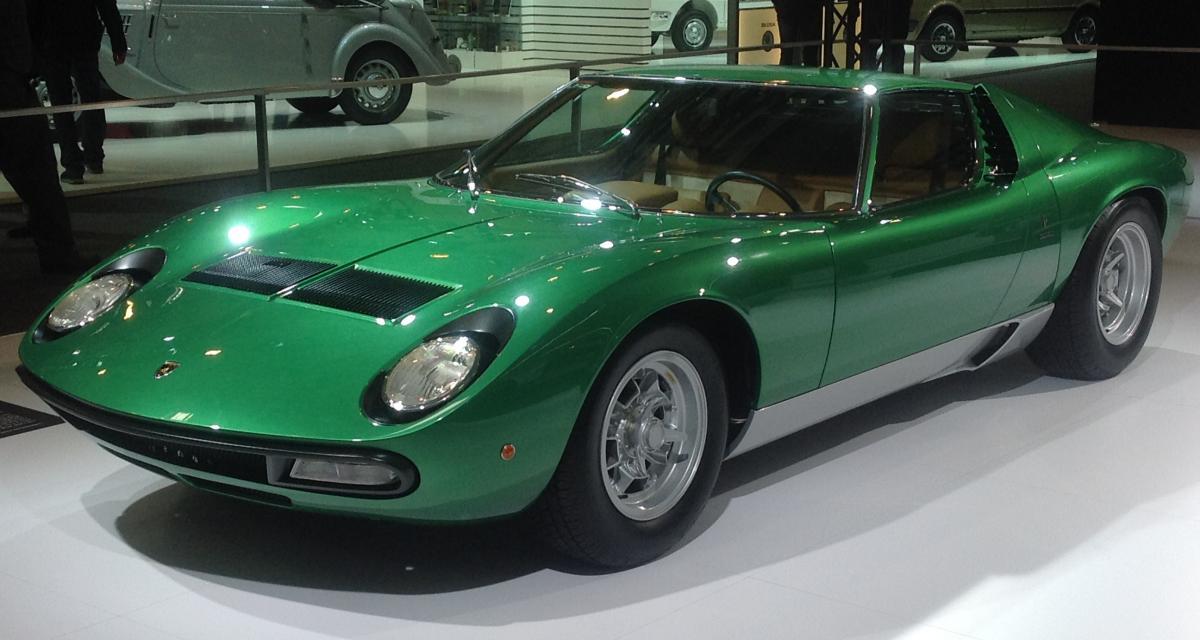Vente de collection : une Lambo Miura P400 adjugée pour 560 000 euros
