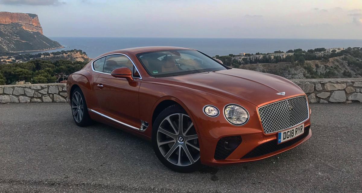 Essai Bentley Continental GT de 635 ch : on a testé l'éco-conduite...