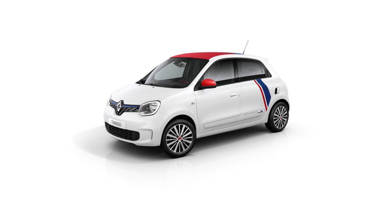 Renault lance une édition limitée de la Twingo restylée avec Le Coq Sportif