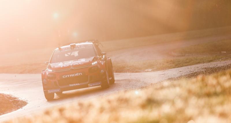Loeb remporte sa première spéciale avec Hyundai — Rallye Monte-Carlo