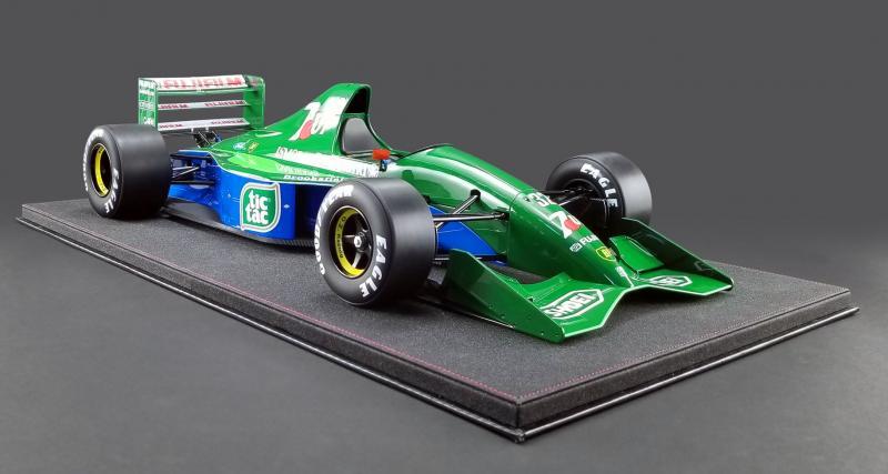 Une réplique de la Jordan 191 de Schumacher pour 4 500 dollars !