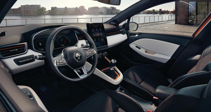 Nouvelle Clio 5 : Renault ne dévoile que l'habitacle de sa nouvelle citadine