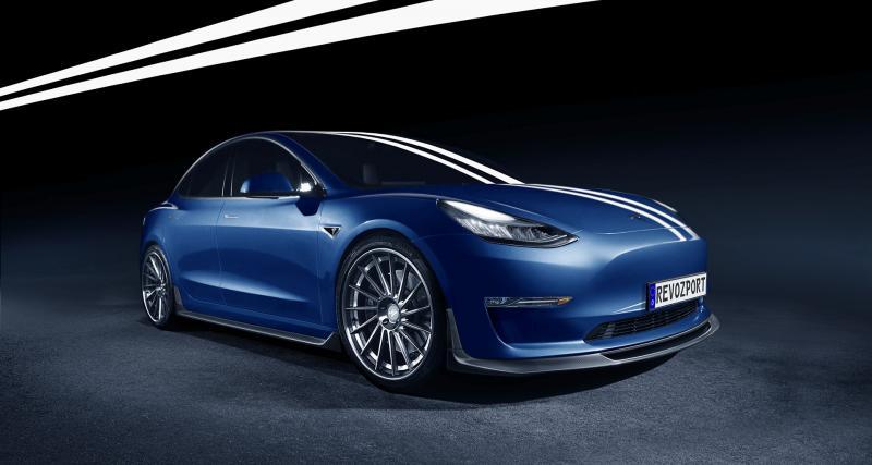 Une Tesla hyper agressive
