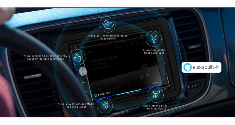 Au CES 2019, Boss Audio présentait un autoradio multimédia avec la commande vocale Alexa d'Amazon