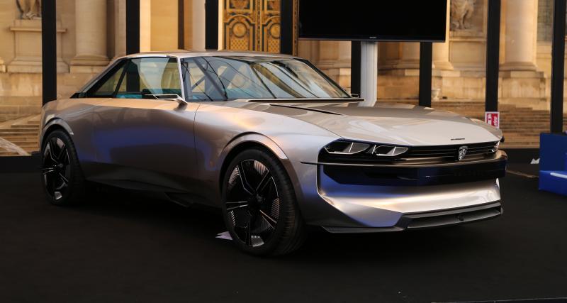 Peugeot e-Legend : nos photos au Festival Automobile International 2019