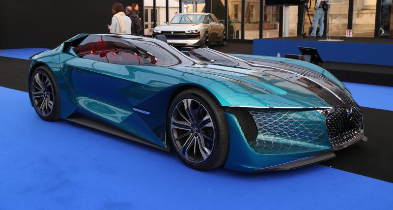 DS X E-Tense : nos photos au Festival Automobile International 2019