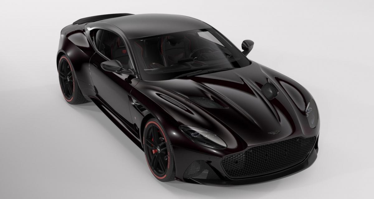 Présentation de l'Aston Martin DBS Superleggera TAG Heuer Edition