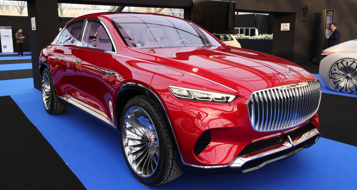 Mercedes Maybach Vision Ultimate Luxury : nos photos au Festival Automobile International 2019