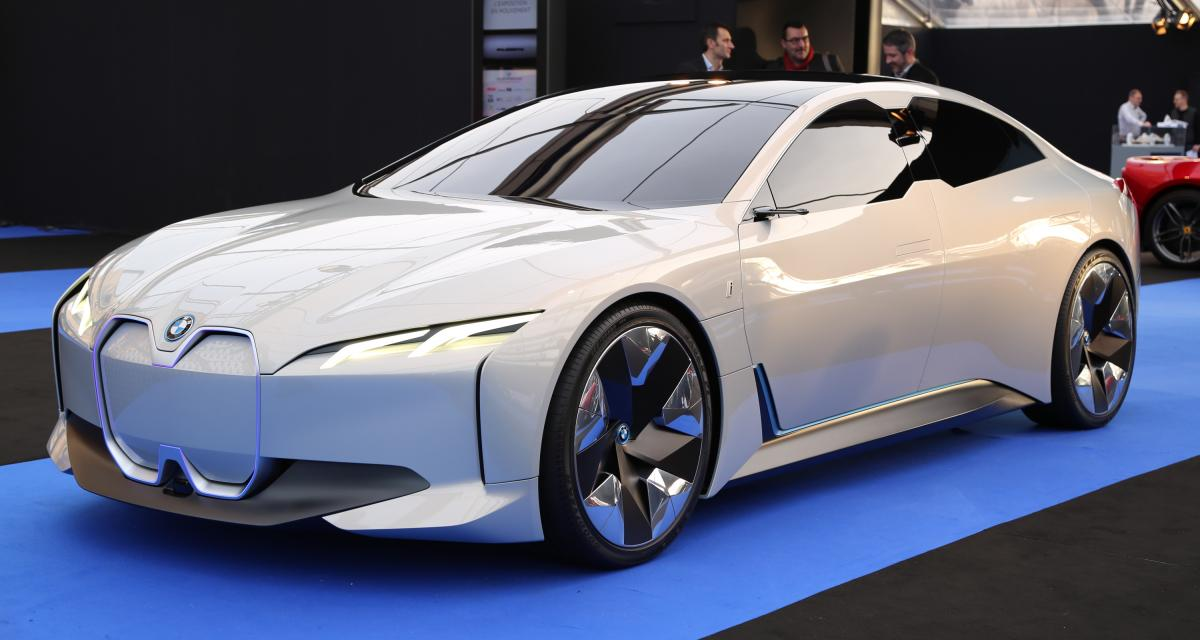 BMW i Vision Dynamics : nos photos au Festival Automobile International 2019