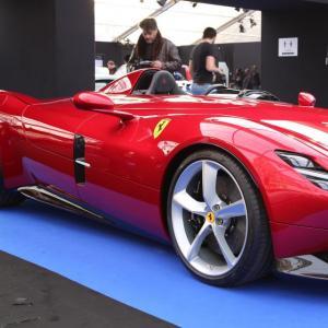 Ferrari SP1 : nos photos au Festival Automobile International 2019