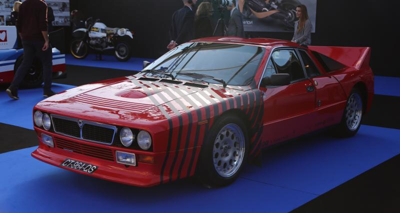 Lancia 037 : nos photos au Festival Automobile International 2019