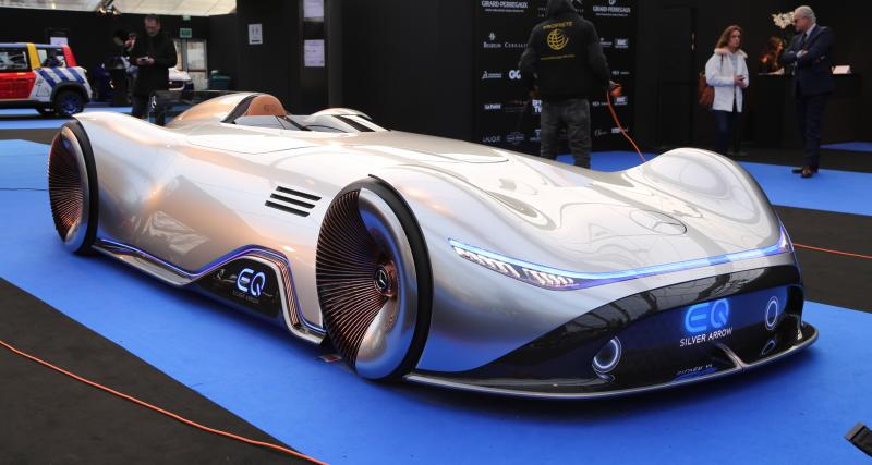 Mercedes EQ Silver Arrow : nos photos au Festival Automobile International 2019