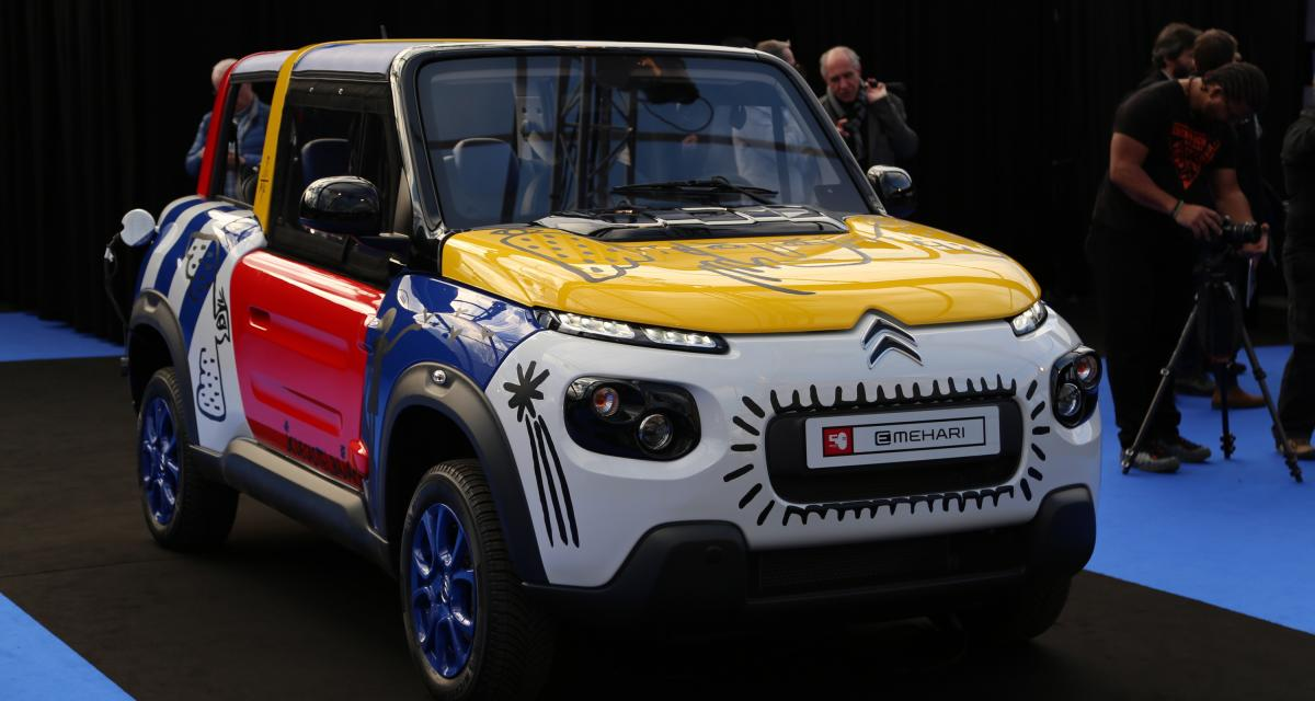Citroën e-Mehari JCC : nos photos au Festival Automobile International 2019