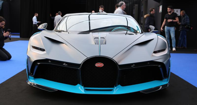 Bugatti Divo : nos photos au Festival Automobile International 2019