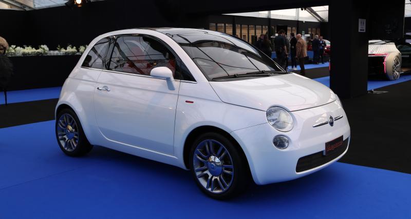 Exposition Fiat 500 au Festival Automobile International : nos photos