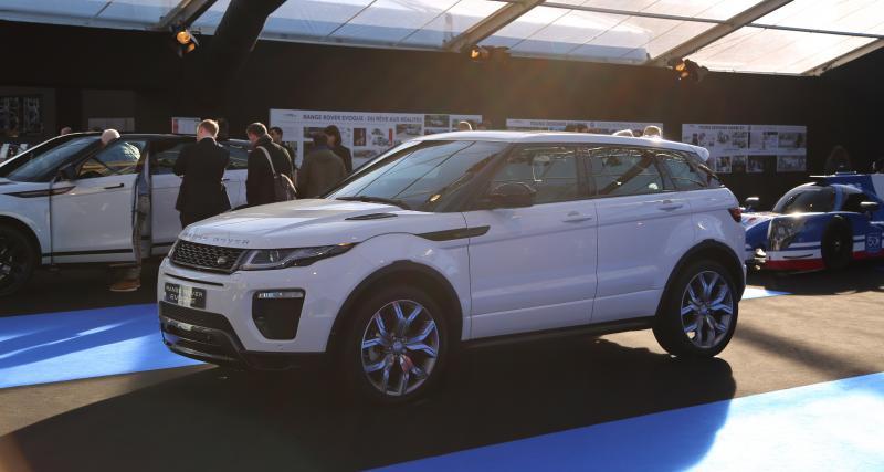 Exposition Land Rover au Festival Automobile International : nos photos