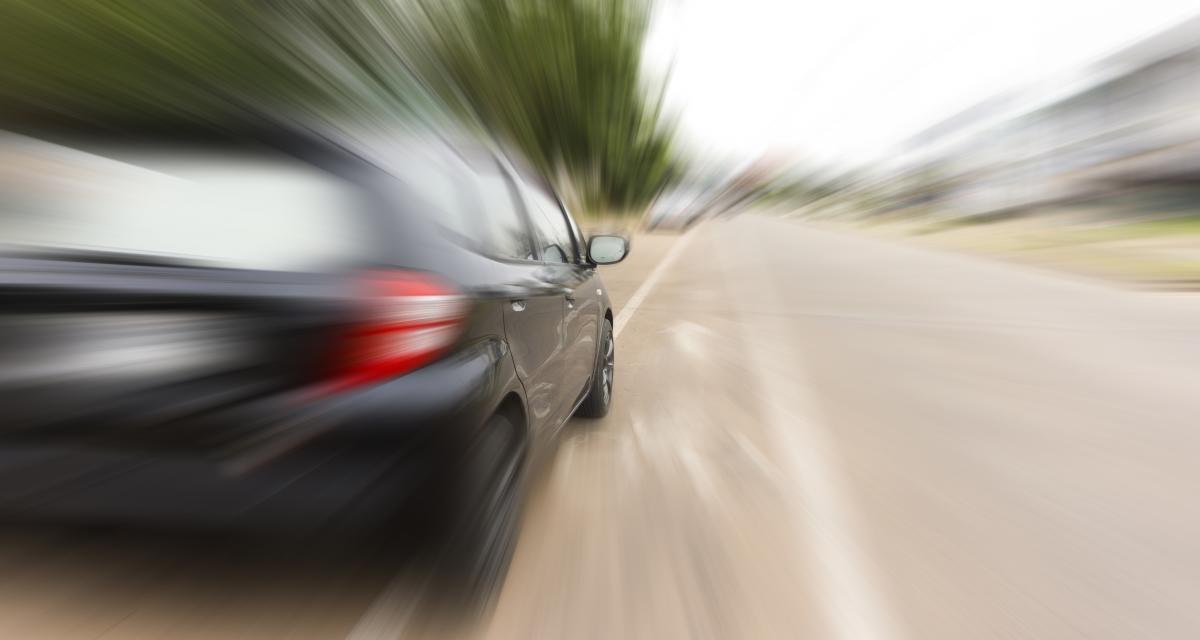 Flashé pour un grand excès de vitesse : grosse amende