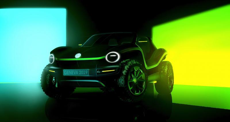 Volkswagen dévoile le concept d'un buggy de plage électrique