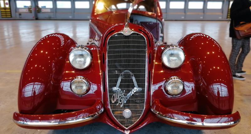 Rétromobile 2019 : nos photos de l'Alfa Romeo 8C