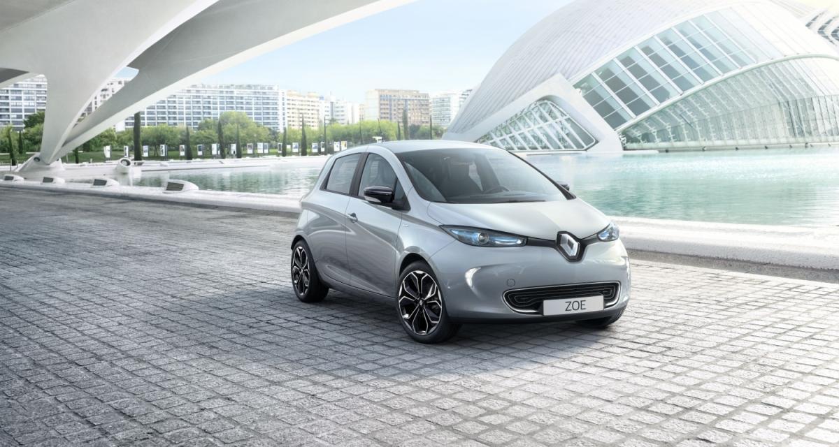 Zoé : une Renault Zoé S pour les Anglais