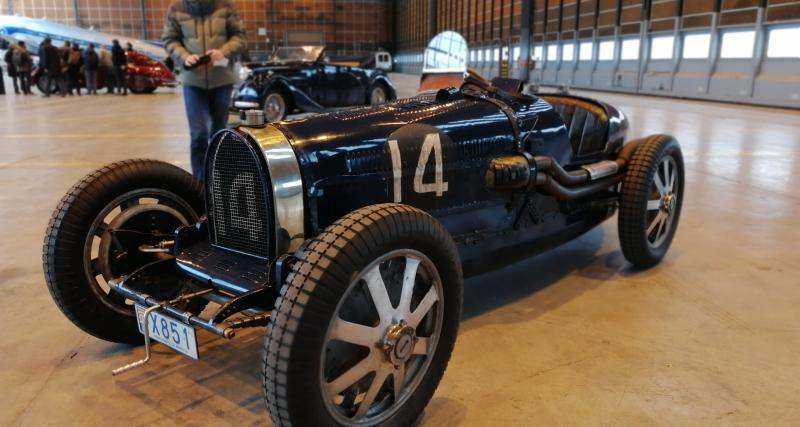 Rétromobile 2019 : nos photos de la Bugatti Type 51 Grand Prix