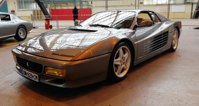 Rétromobile 2019 : nos photos de la Ferrari 512 Testarossa de 1992