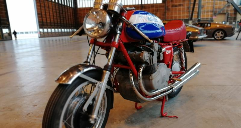 Rétromobile 2019 : nos photos de la MV Agusta 750 S de 1972