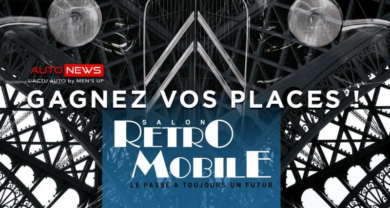 Jeu concours : gagnez vos places pour Retromobile 2019
