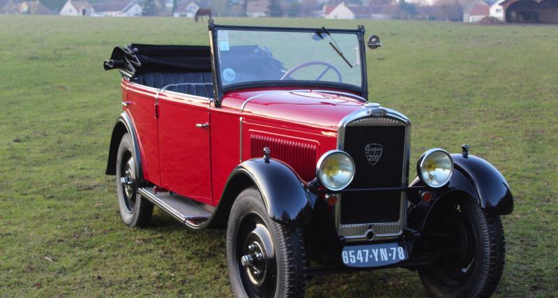 Rétromobile 2019 : le programme de Peugeot en photo