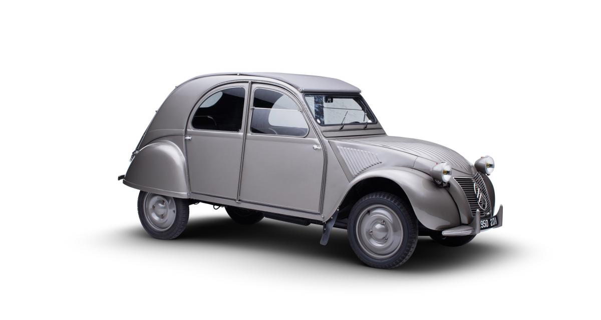 Rétromobile 2019 : les véhicules de série exposés par Citroën en photo