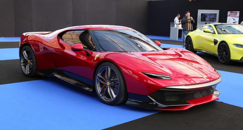 Ferrari SP-38 : nos photos au Festival Automobile International