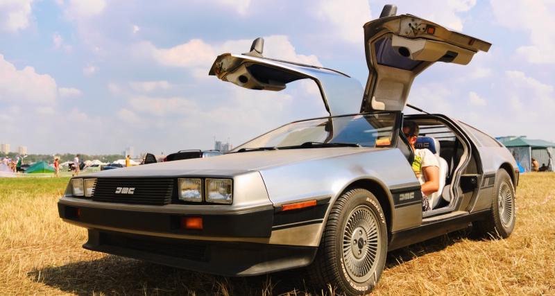 Une DeLorean aéroglisseur est en vente sur internet !