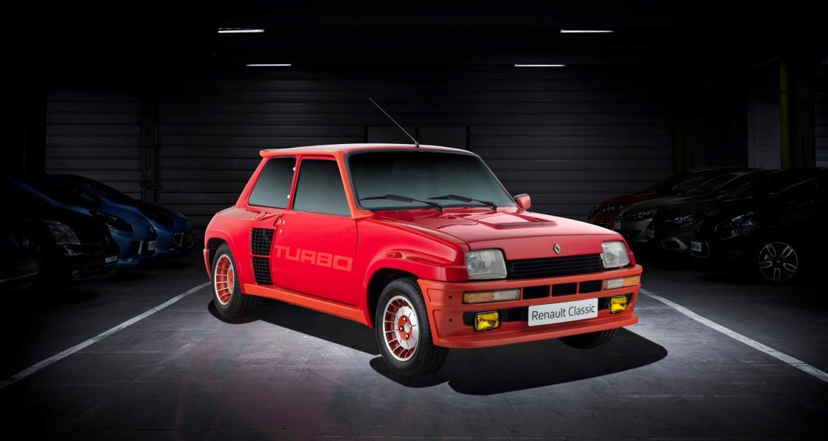 En images : Renault revient sur l'histoire de ses moteurs Turbo pour Retromobile !