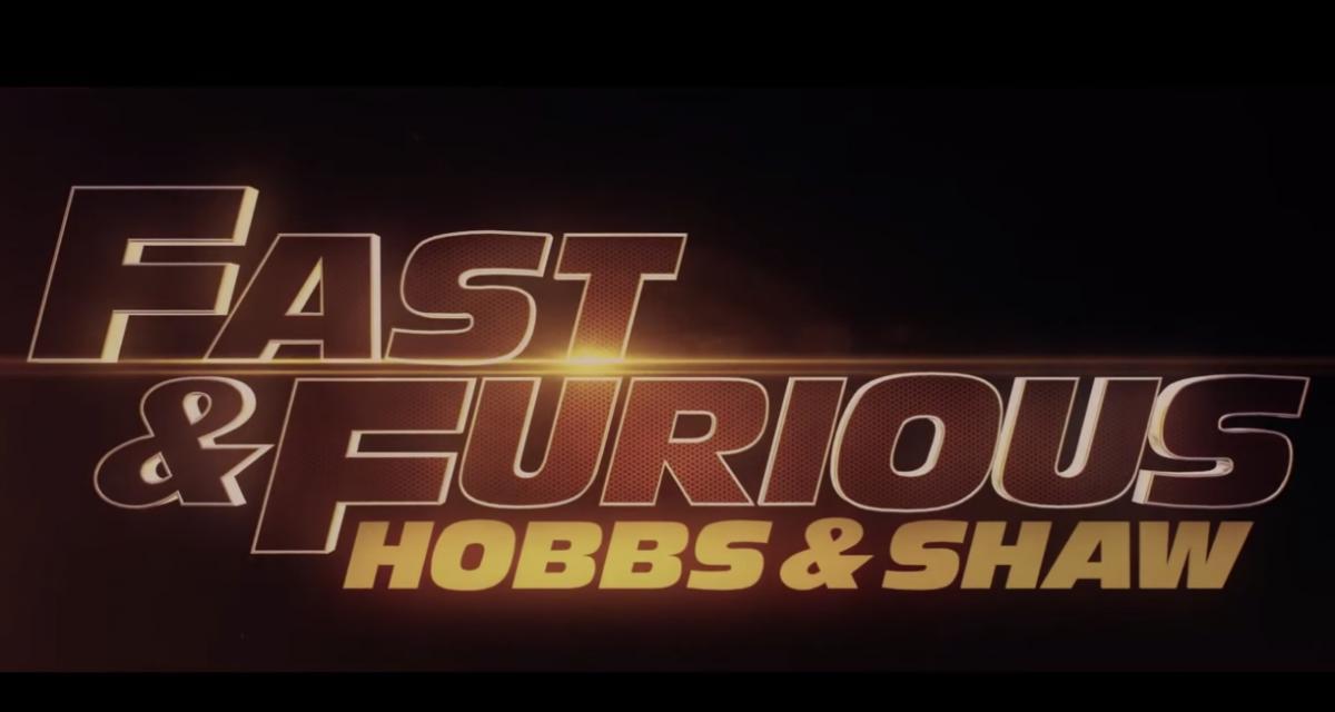 Découvrez la bande annonce du nouveau volet spin-off de Fast & Furious